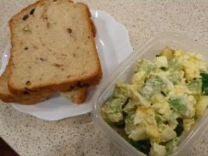 ゆで卵とアボカドのサラダ