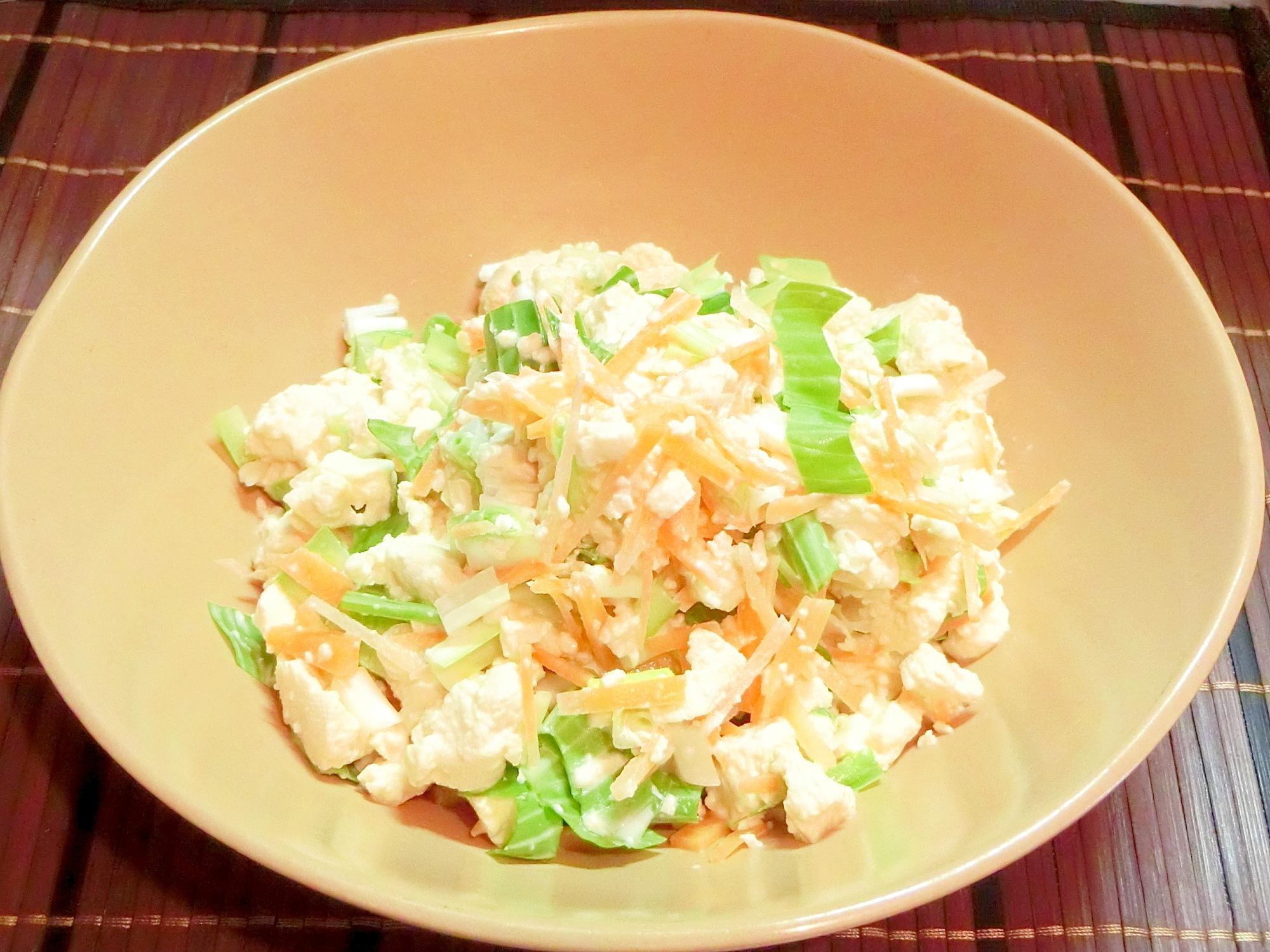 うるいと豆腐の副菜