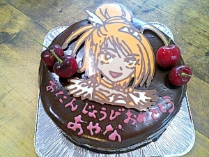 チョコレートケーキ☆キャラクター