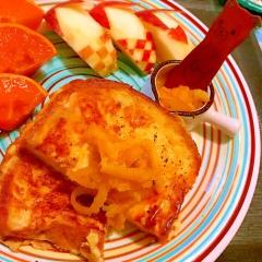 ママレード&ピリッと胡椒の大人フレンチトースト