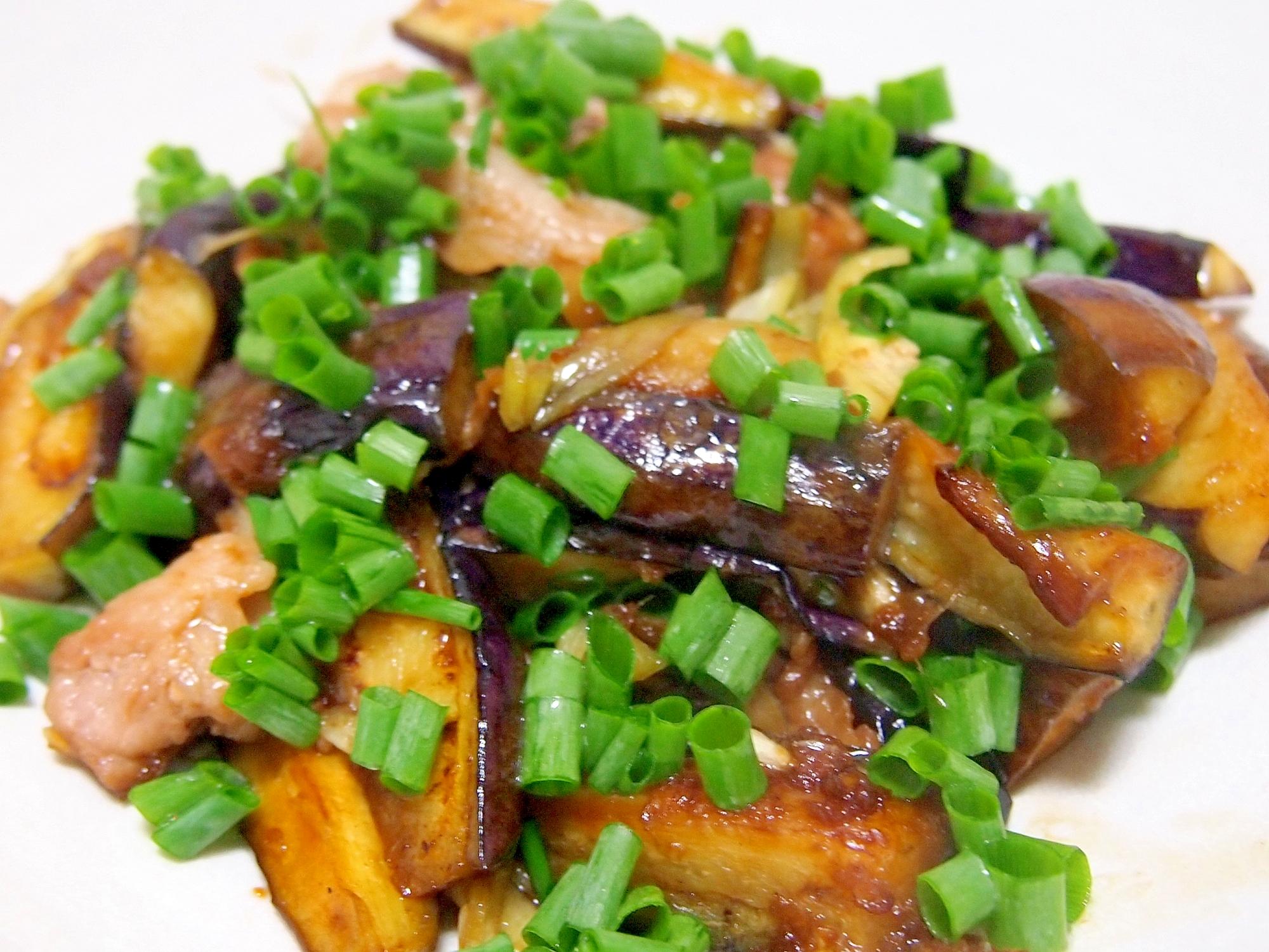 なすと豚肉のしょうが焼き レシピ・作り方 by まるっとまる 楽天レシピ