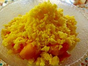 パイナップル氷フルーツデザート
