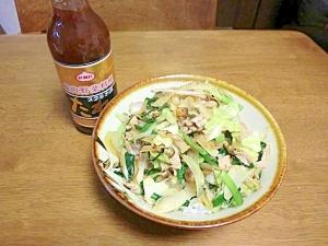 東北応援スタミナ源の肉野菜丼