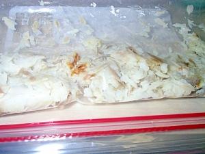 離乳食:焼・煮魚の保存法