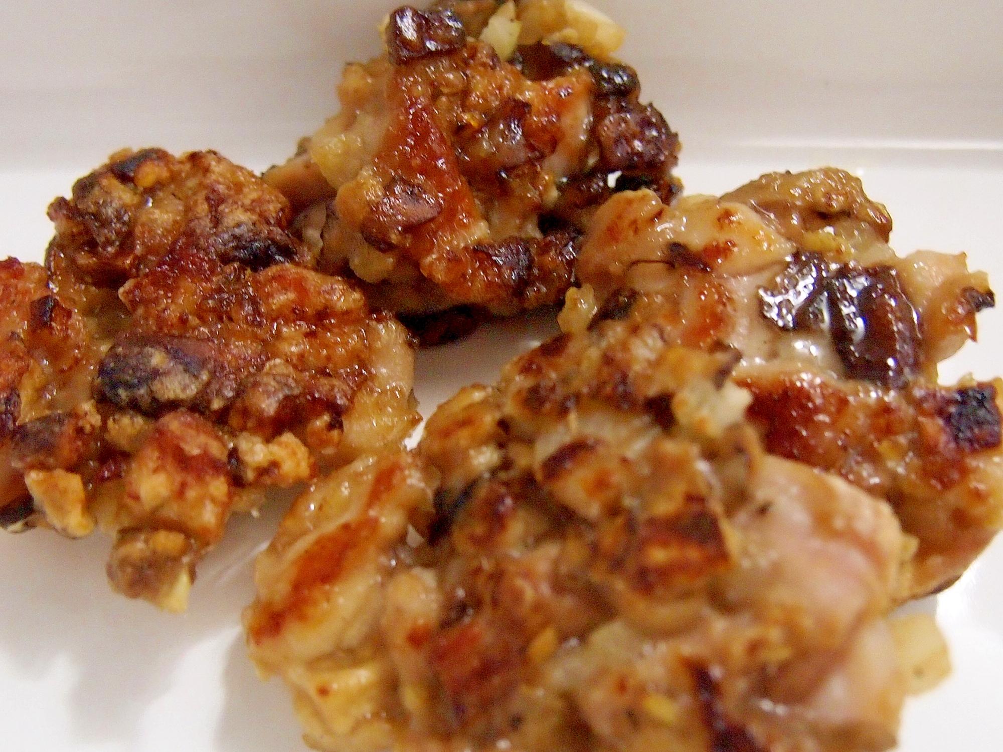 鶏もも肉の中華風肉団子