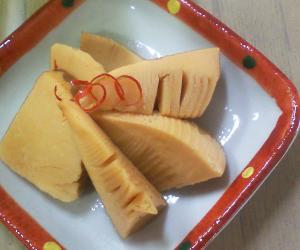 今年の常備菜・お弁当おかず開始!は、タケノコ