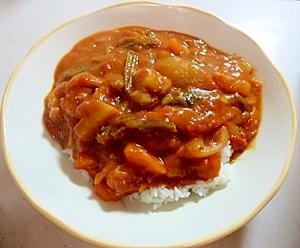 野菜いっぱい!トマトカレー