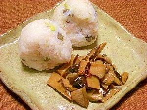 お弁当の隅に加えて♪椎茸とエリンギの佃煮