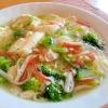 カニかまとブロッコリーのとろとろ豆腐あんかけ♪の参考画像