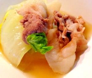 白菜 豚肉 コンソメ
