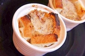 食パンで簡単、豆腐とキノコのパンdeキッシュ