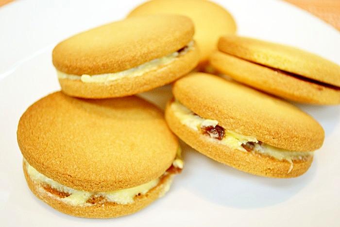 レーズンサンドクッキー