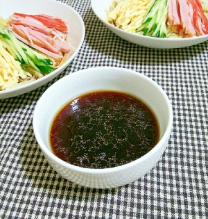 冷やし中華 の タレレシピ
