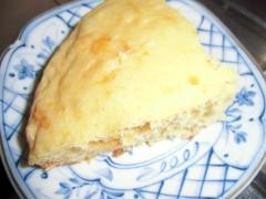 オレンジジャムの炊飯器ケーキ