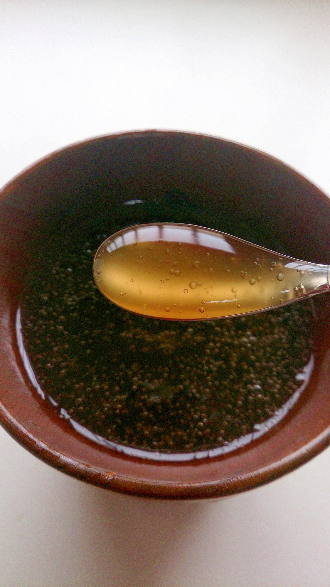 黒糖(紅茶)の葛湯(風邪気味・冷えに)
