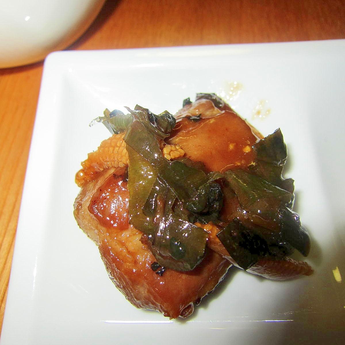 ヤングコーンと葱スペアリブ