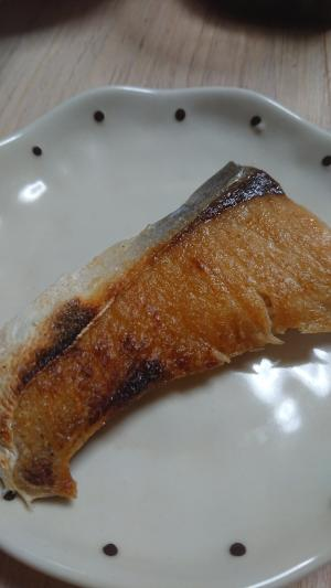 フライパン ぶり 塩焼き