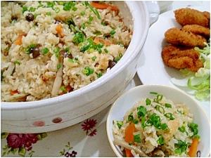 土鍋で簡単!美味しい炊き込みご飯を作ろう♪♪♪