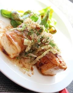 あと1品♪木綿豆腐の豚バラ巻きde簡単お好み焼き風