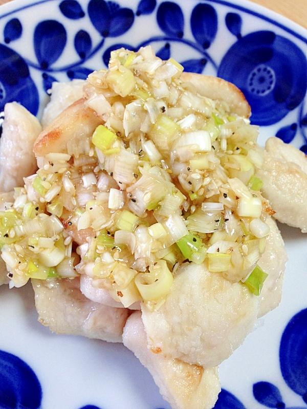 ささみのうまうまネギ塩タレまみれ☆ レシピ・作り方 by ももぞう。 楽天レシピ