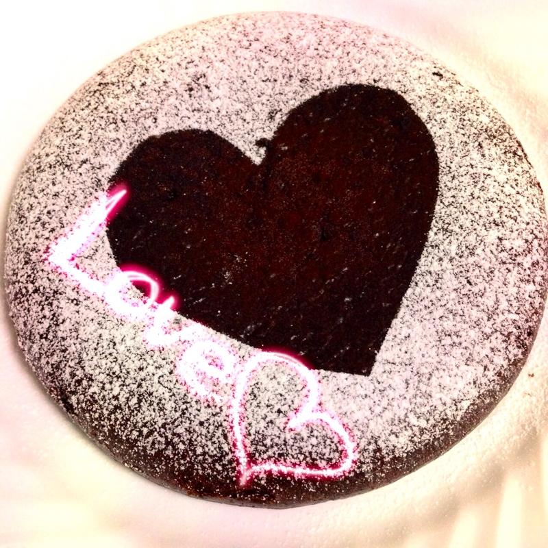 3. 大豆粉チョコケーキ