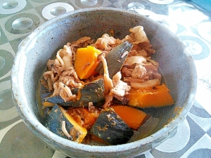豚肉 かぼちゃ 煮物