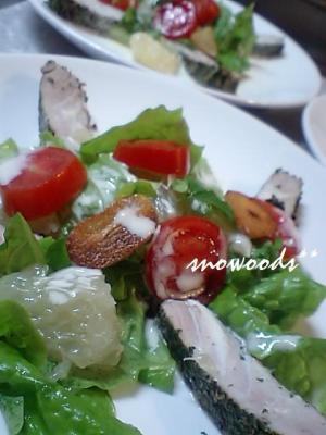 まぐろの洋風たたきサラダ