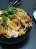 楽チン!肉豆腐丼!!