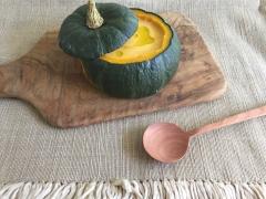 坊ちゃんかぼちゃのまるごとスープ