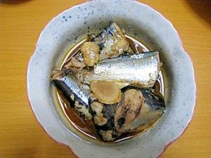 ピリから秋刀魚の煮付け