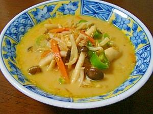 低カロ♪海藻麺でお腹いっぱいラーメン風