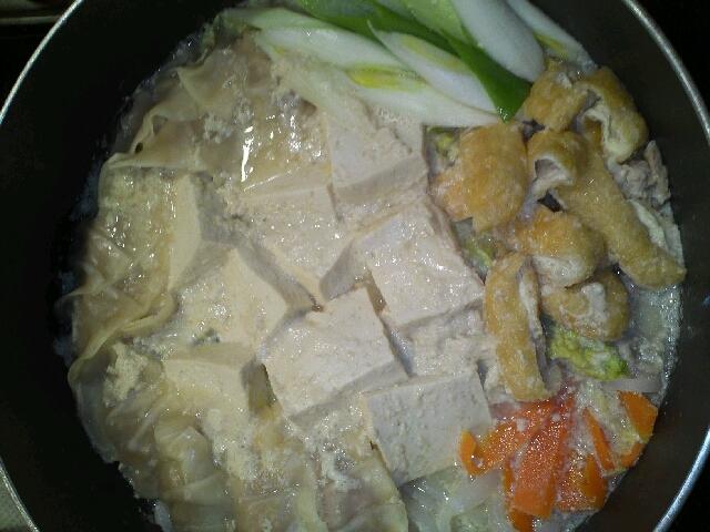 絶品!味噌豆乳鍋☆