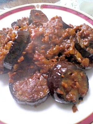 みんな大好き☆なす&ひき肉のカレー炒め