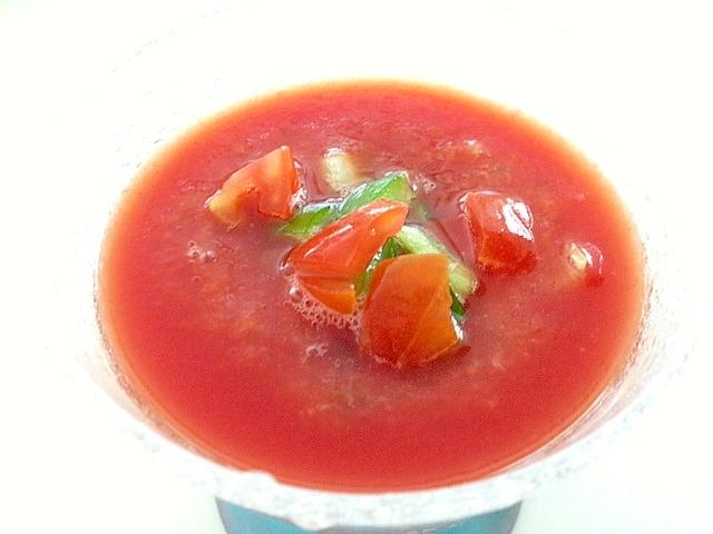 トマトの冷製スープ☆ガスパチョ