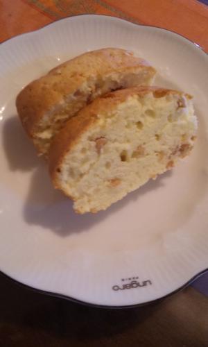 ナッツのパウンドケーキ