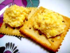 簡単★豆腐とゆで卵のフワフワディップ