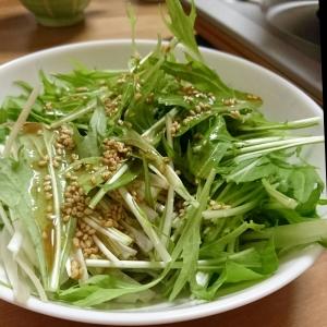 水菜の中華風サラダ レシピ・作り方 by VIW|楽天レシピ