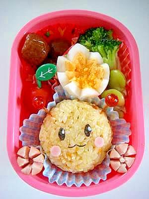 キャラ弁★簡単うーたんのお弁当