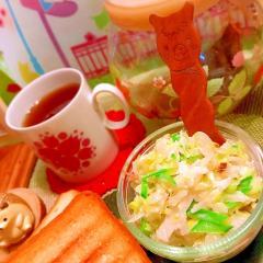 生姜の佃煮で手間なし和風コールスロー