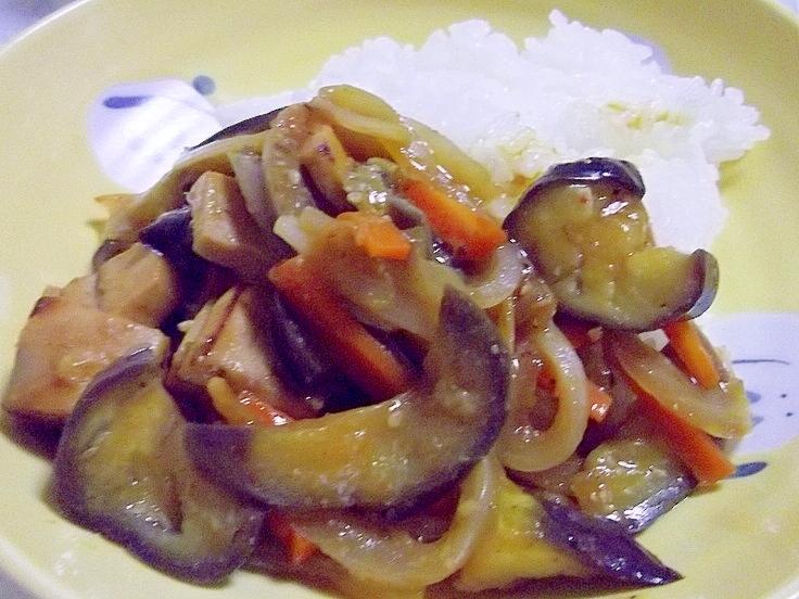 たっぷり野菜no麻婆茄子丼