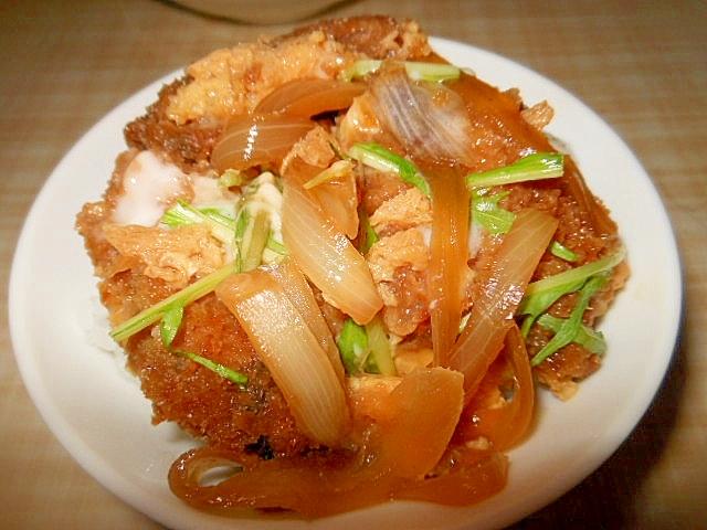 【リメイク】牡蠣フライ煮丼
