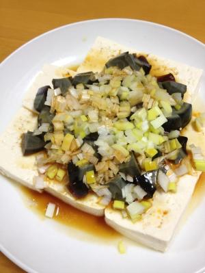 簡単!ピータン豆腐