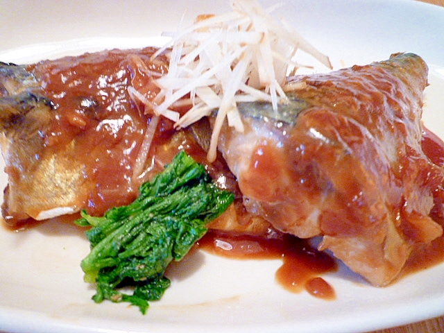 定番おかず!鯖の味噌煮。
