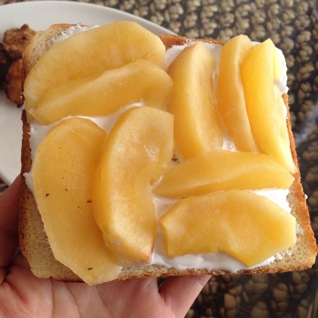 1.デザートトースト