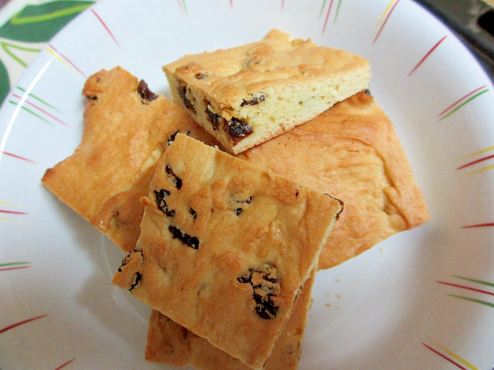 〔お手伝いレシピ〕レーズンソフトクッキー