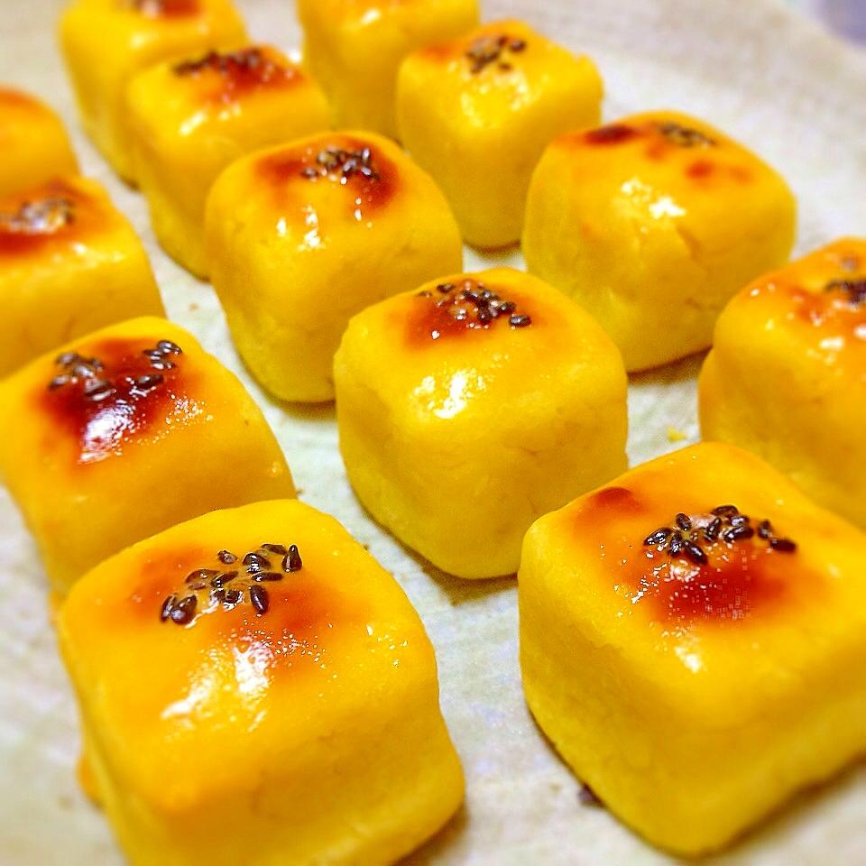 ひとくちサイズでかわいい簡単スイートポテト レシピ・作り方 by うおあつ|楽天レシピ