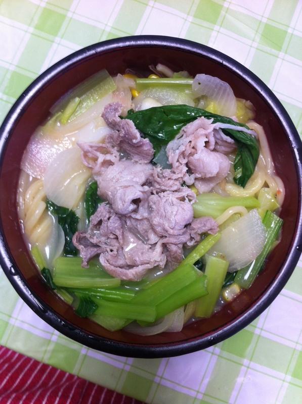 ★野菜たっぷり★豚肉ちゃんぽん★