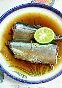 平凡ですが~秋刀魚の煮付け~♪