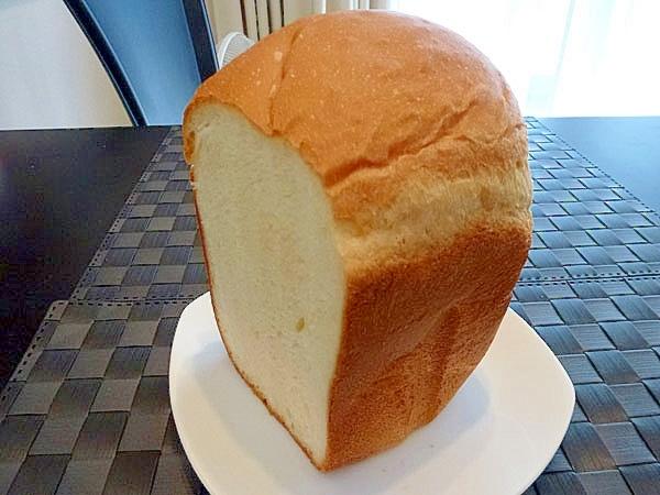 ちょっと甘めのふわふわ食パン