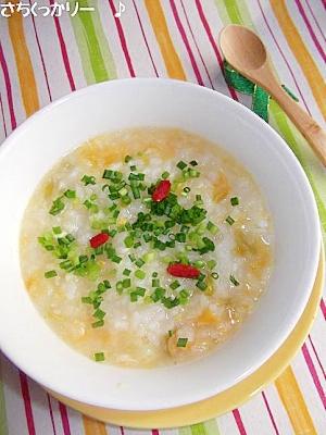 風邪にも★生姜&ネギの中華粥